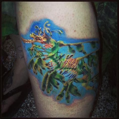 tattoo sea dragon leafy sea dragon tattoo by carolyn cadaver tattoos