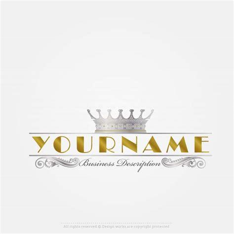 royal crown logo design premium logo templates create a logo template royal crown logo design