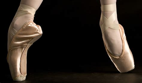 pointe shoes for the royal ballet from the perspective of a pointe shoe