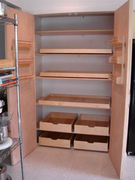 Roll Out Pantry Shelves by Pantry Pull Out Shelves Other Metro By Shelfgenie Of