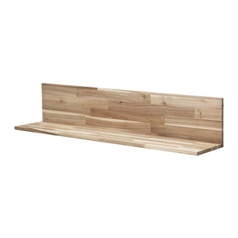 Skogsta Wall Shelf Ikea Ikea Wood Shelves