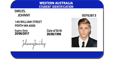 australian id card template australian identification card international card