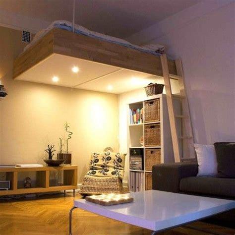 Loft Bed Bespoke Wood Lights Best Design 2016