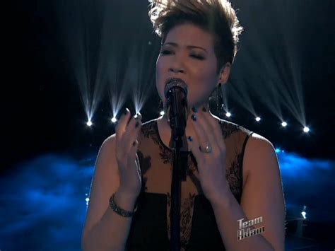 Tessanne Chin Nude - the voice watch tessanne chin sing quot bridge over