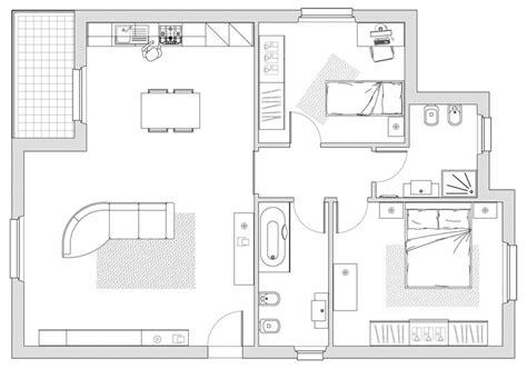 progetti appartamenti progetto appartamento 80 mq