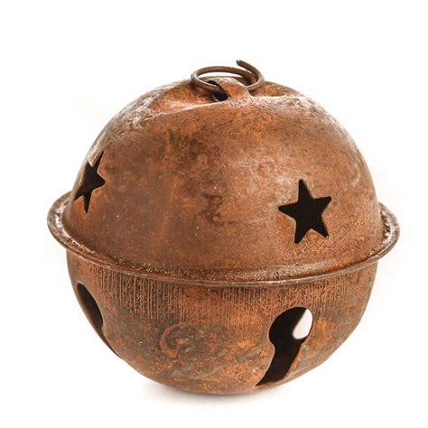 rusty tin sleigh bell rusty tin bells rusty tin