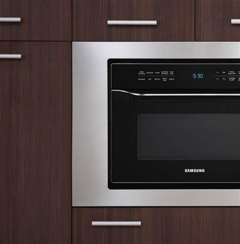 Microwave Oven Samsung Me83m samsung microwave trim kit bestmicrowave