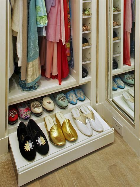 Pull Out Drawers For Closet by 25 Ways To Store Shoes In Your Closet Decorating And