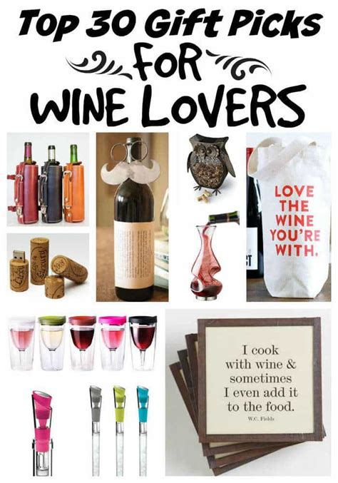 gift for lover wine will adore these 30 unique gift ideas