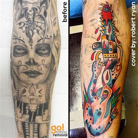 tattoo cover up removal 90 best tattoo removal to tattoo cover up images on