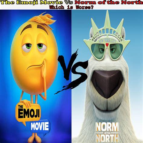 emoji film vs the emoji movie vs norm of the north by kouliousis on