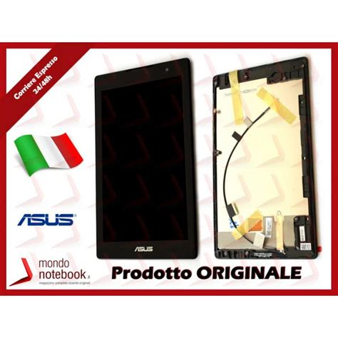 Lcd Touchscreen Ts Tablet Asus Zenpad C 70 Z170cg display lcd con touch screen originale asus zenpad c 7 0 z170cg con frame ricambiasus
