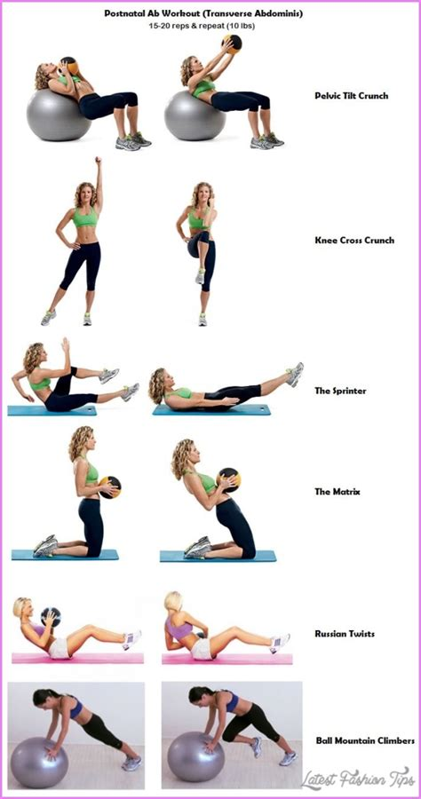 transverse abdominal exercises post pregnancy latestfashiontips
