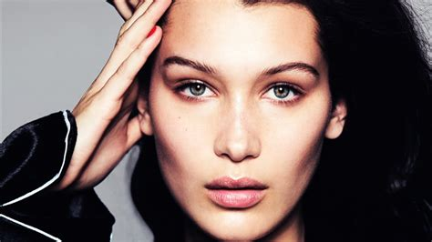 tutorial makeup model bella hadid makeup transformation tutorial aka how to look