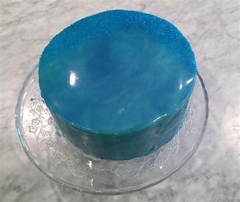 mirror glaze cake homemade tried a mirror glaze cake food