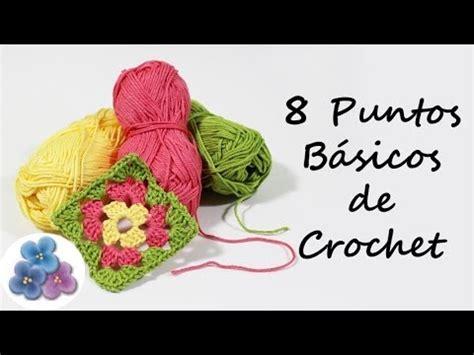 como aprender hacer punto salomon en crochet como hacer 8 puntos basicos de crochet trapillo curso de