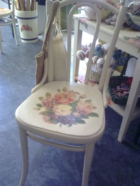 Decoupage Chair - decoupage chair by 13th tale on deviantart