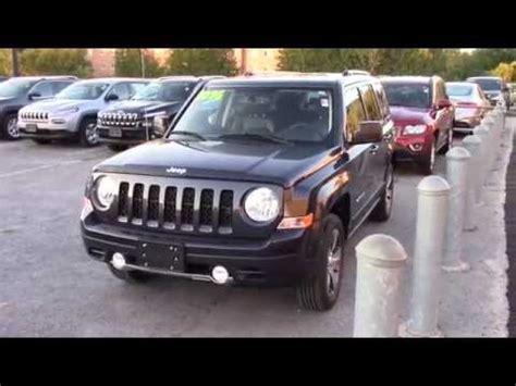 jeep patriot 2016 black 2016 jeep patriot high altitude black youtube