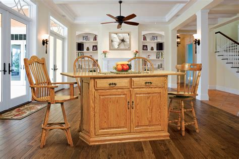 substantial wood kitchen island with apron sink single oak kitchen islands