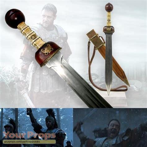 gladiator film hero name gladiator maximus hero germania back up sword original