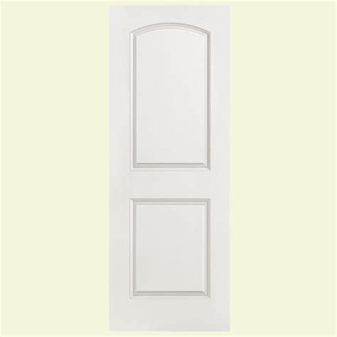 24 X 80 Interior Door Masonite 24 In X 80 In Solidoor Smooth 2 Panel Top Solid Primed Composite