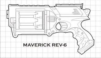 gun coloring pages 31 on online with nerf sketch template - Nerf Gun Coloring Pages Printable