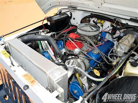 Jeep V8 Engine 1103 4wd 02 1990 Jeep Wrangler Yj Ford 302 V8 Engine