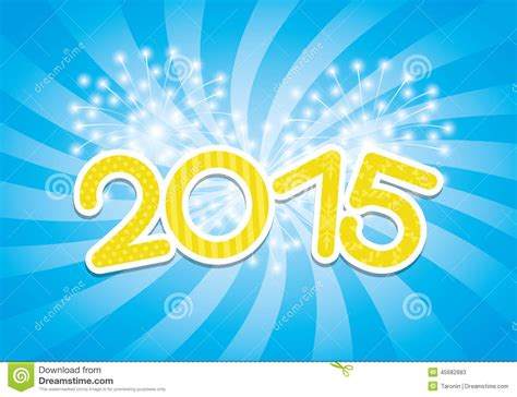 new year 2015 banner vector vector banner 2015 year stock vector image 45682883