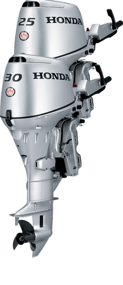 honda boat motors honda bf25 30 outboard engines 25 and 30 hp 4 stroke