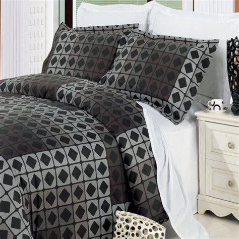 mens bed comforters teen boys bedding queen size geometric grey black duvet