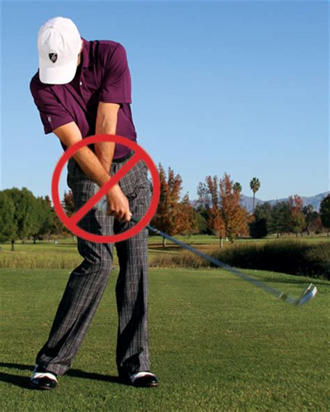 basic golf swing swing myths and simple fixes golf tips magazine