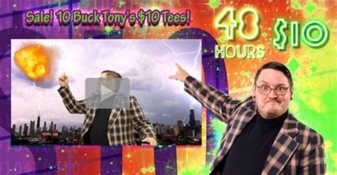Threadless 10 Sale by Threadless 10 Buck Tony Sale Goes Live All Tees 10 00 T