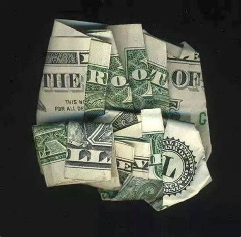 the root of all evil love of money