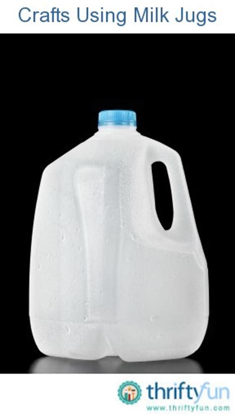milk jug crafts for crafts using milk jugs thriftyfun
