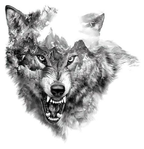 snarling wolf tattoo designs cool snarling wolf design wolf wolf