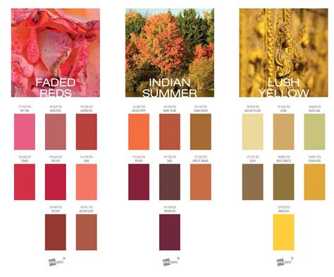 trending color palettes for 2017 fashion vignette trends spinexpo color trends a w 2017
