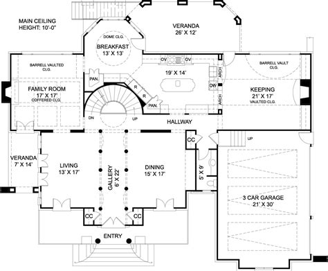 mansion home plans chiswick house 7939 4 bedrooms and 3 baths the house