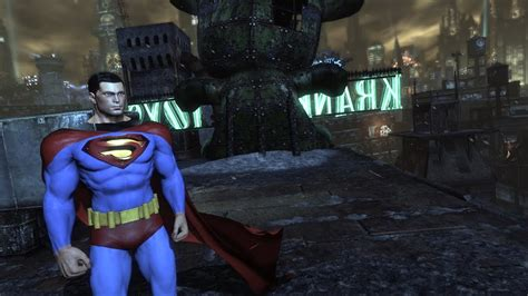 Arkham City batman arkham city superman mod