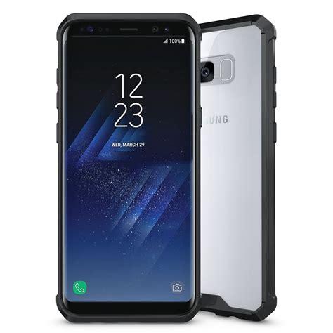 Samsung Galaxy S8 Flip Mirror Casing Cover Bumper Armor Cermin hybrid fusion frame bumper samsung galaxy s8 black