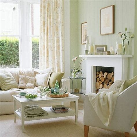 green and white living room how to coordinate white cream if you made a mistake