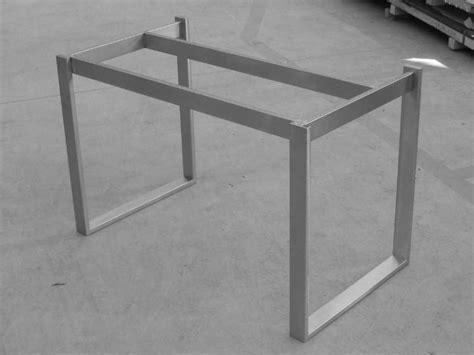 struttura tavolo struttura inox per tavolo tutta saldata robusta photo