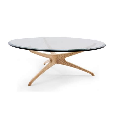 glass top solid wood coffee table fashion design living room furniture center glass top