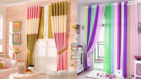 Curtain Style Inspiration Colourful Curtain Designs Ideas Interior Design Inspiration Bright Curtains