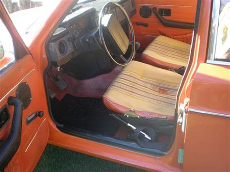 orange    volvo  california edition