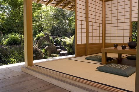 The Entrance Beach House - japanese entrance gate teahouse japanese bridge ca