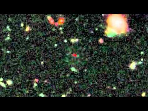 mas lejano universo video de la nasa detallando el objeto mas lejano del