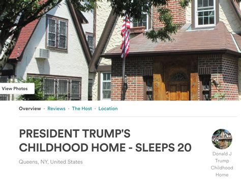 donald trumps house donald trump s childhood home is available to rent on