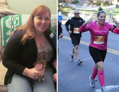 couch to 5k before and after before after angela marchetti s 87 pound weight loss