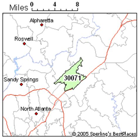 map of norcross best place to live in norcross zip 30071