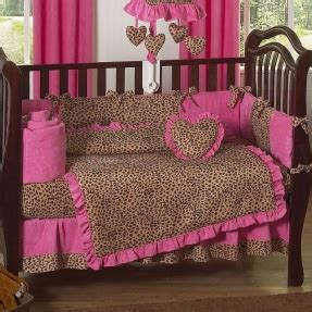 Pink Leopard Print Crib Bedding Leopard Bedding Sets Foter